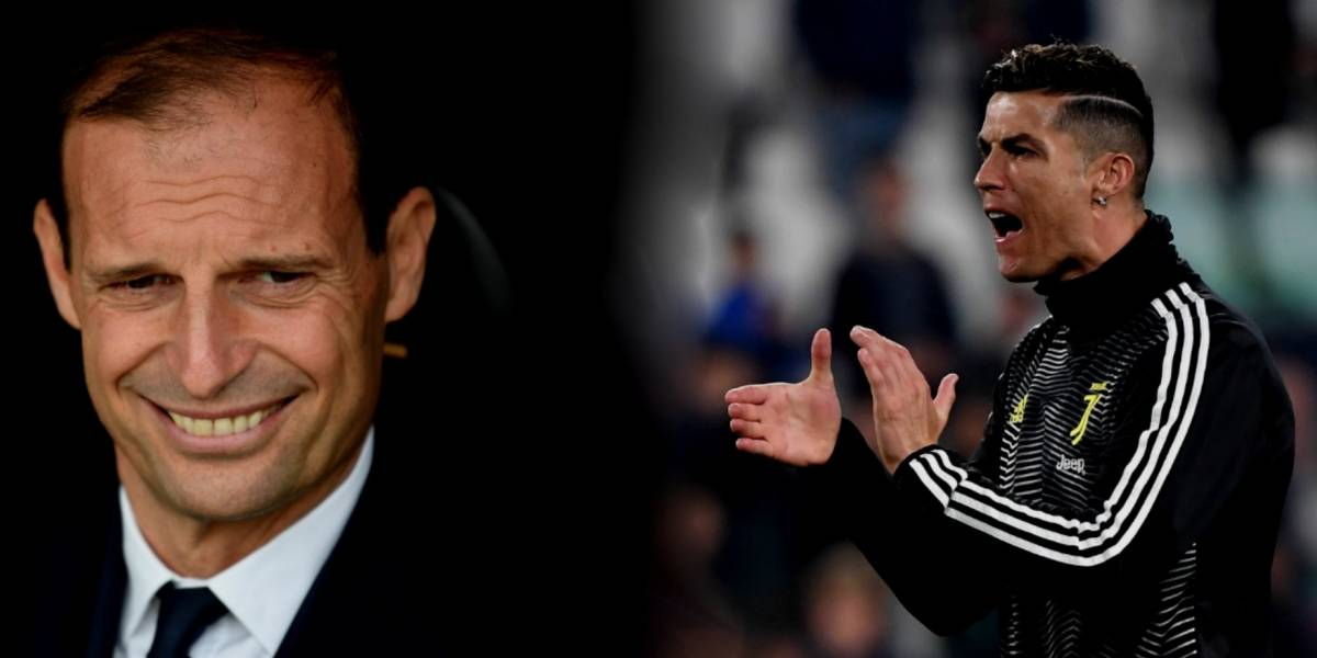 Massimiliano Allegri revela el futuro de Cristiano, ¿se va de la Juve?