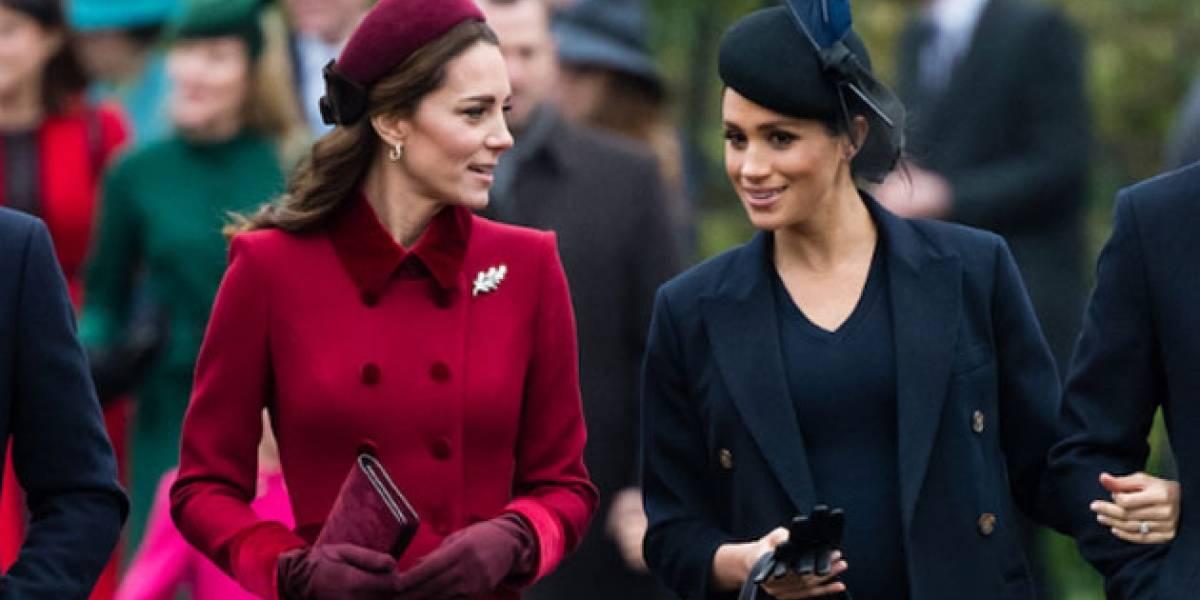 Las claves que demuestran que Kate Middleton cuenta con el favoritismo del palacio sobre Meghan Markle