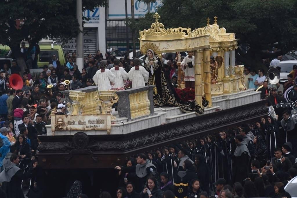 Señor Sepultado del Templo de El Calvario Omar Solís