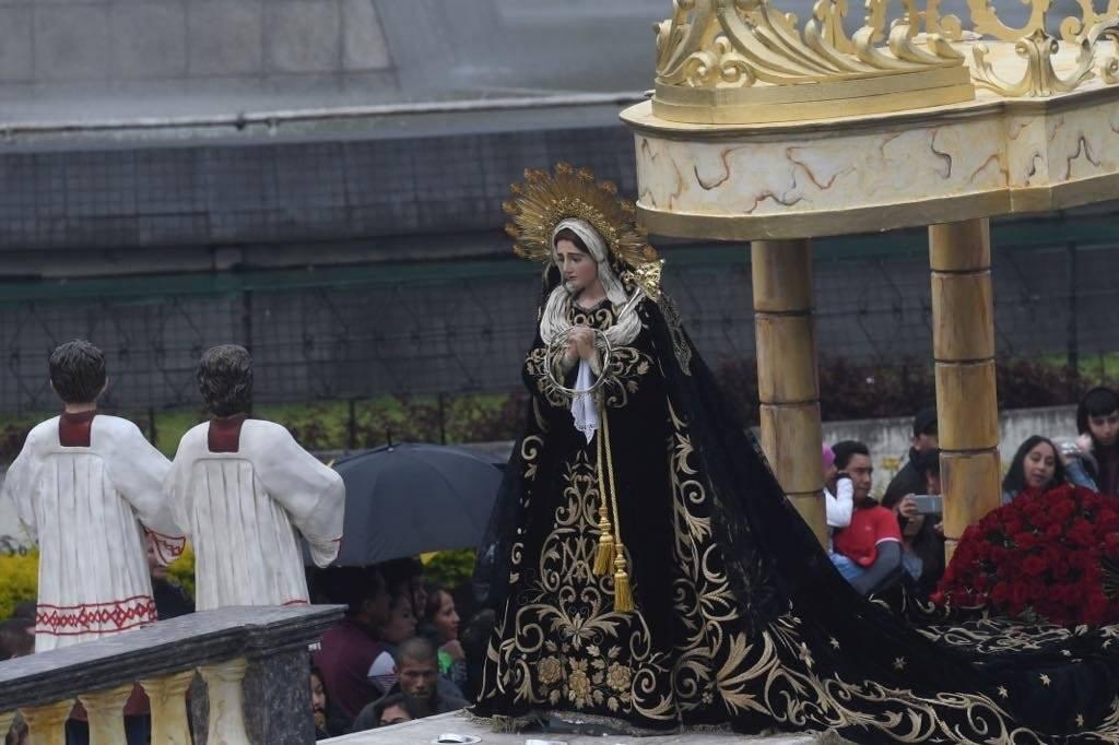 Virgen de Soledad del Templo de El Calvario Omar Solís