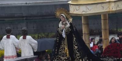 Virgen de Soledad del Templo de El Calvario