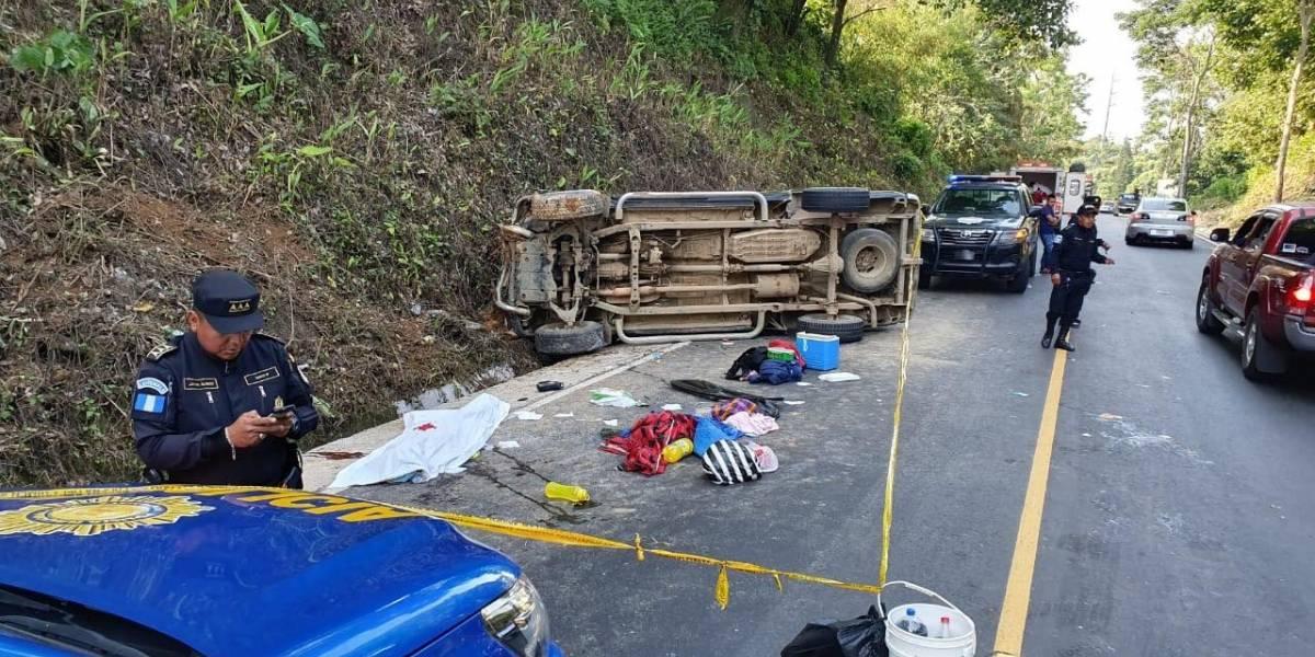 Un muerto y varios heridos en accidente de tránsito en el occidente
