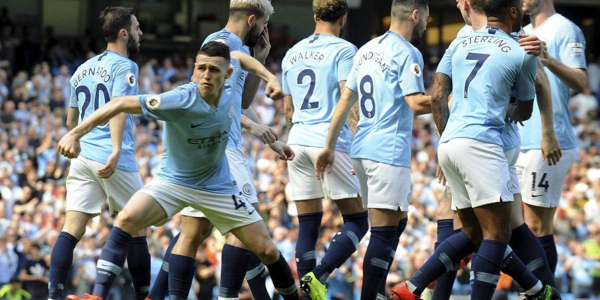 Manchester City recupera la cima venciendo a Tottenham