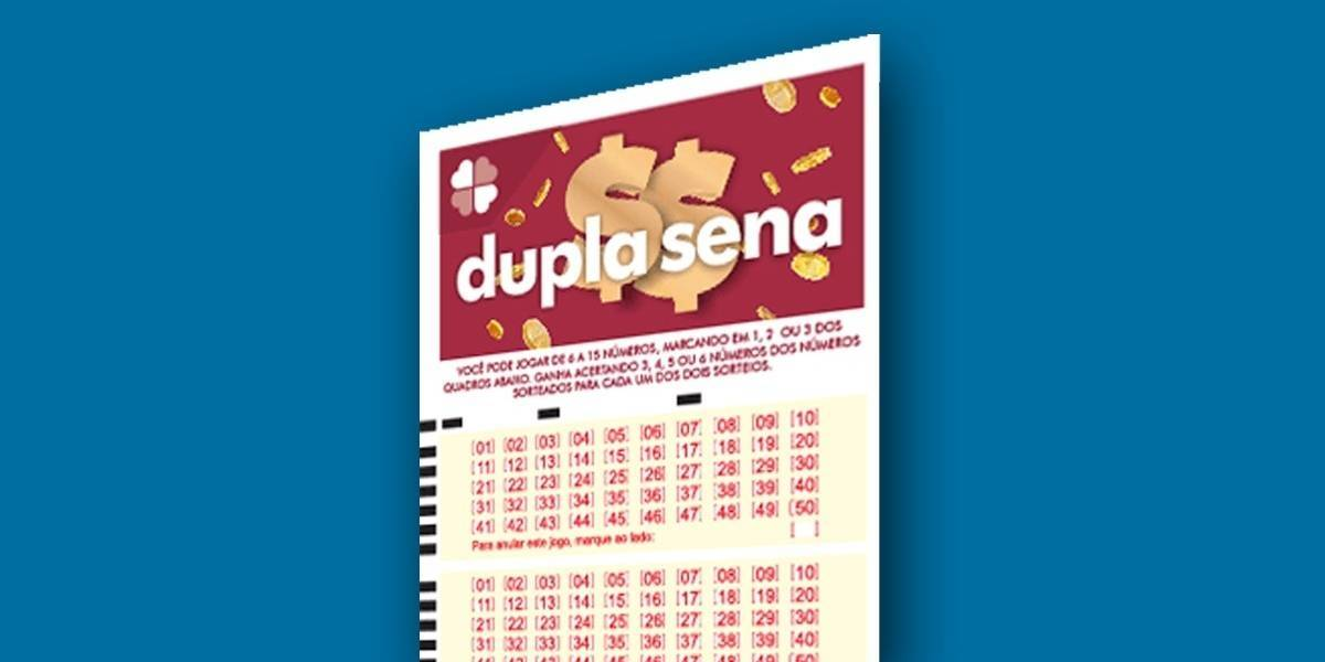 Dupla Sena: veja os números sorteados nesta quinta-feira