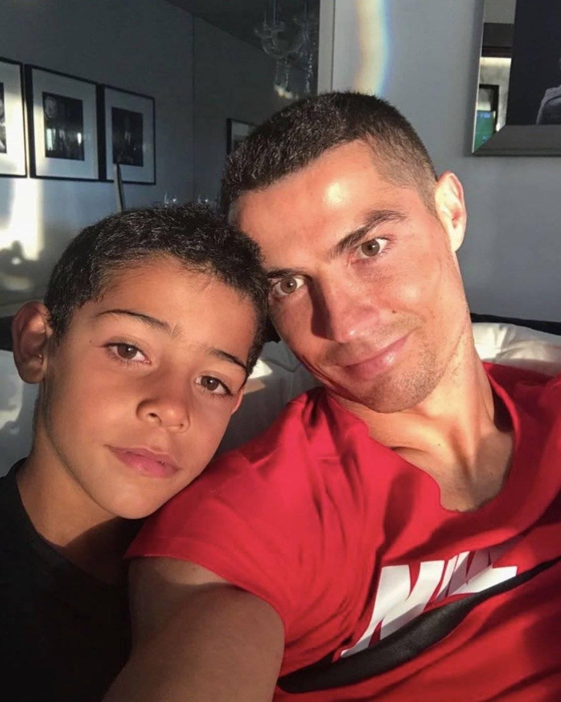 Cristianinho es goleador igual que su padre Instagram @cristianoronaldo