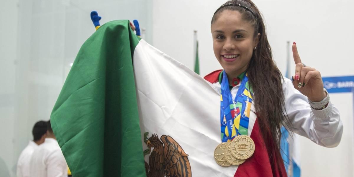 Mexicana Paola Longoria obtiene título panamericano de raquetbol