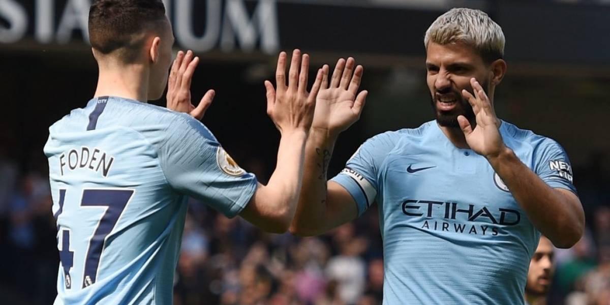 El Manchester City se venga del Tottenham y vuelve al liderato