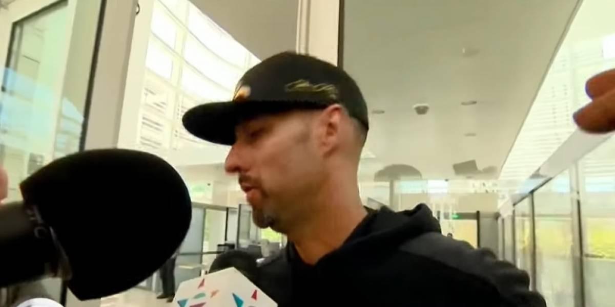 VIDEO: Momento en el que Esteban Loaiza se entregó a autoridades de EU