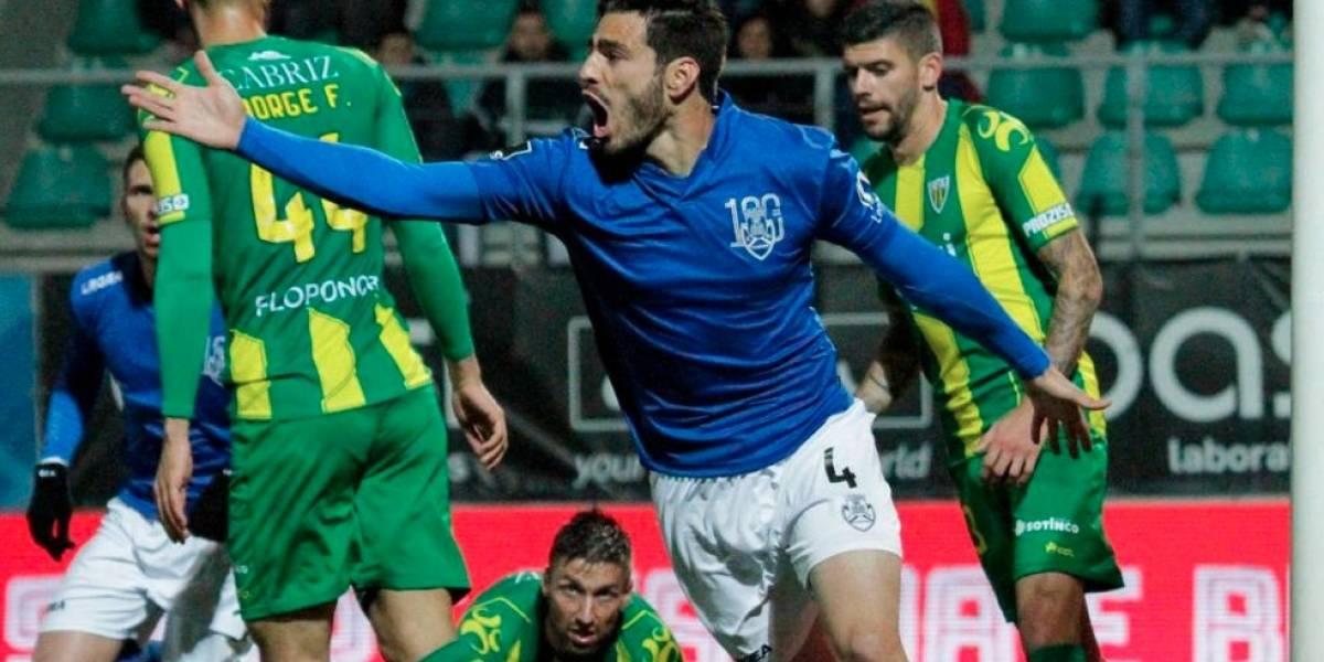 Mexicano Briseño desciende en Portugal a falta de cinco jornadas