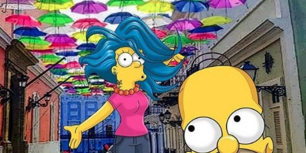 Los Simpsons visitan Puerto Rico en Semana Santa