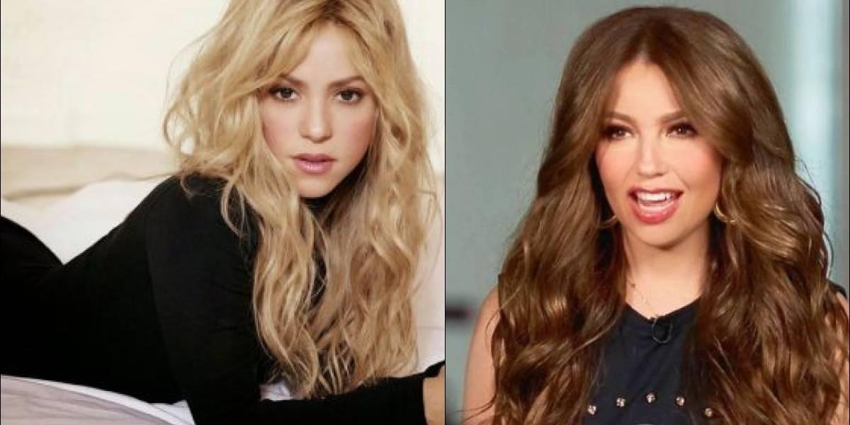 Se difunde una foto de Shakira con el esposo de Thalía (Tommy Motola)