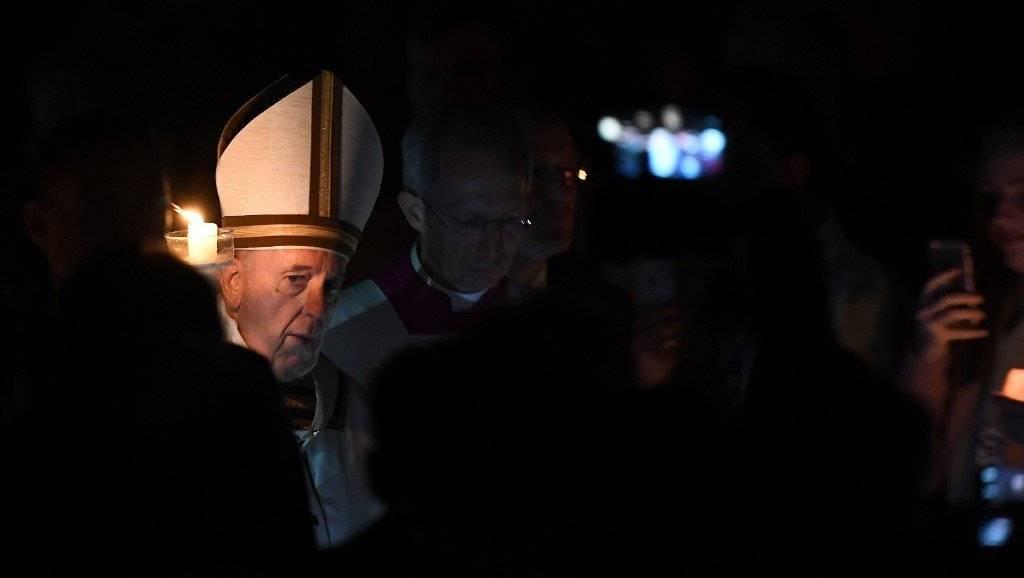 Vigilia Pascual en el Vaticano