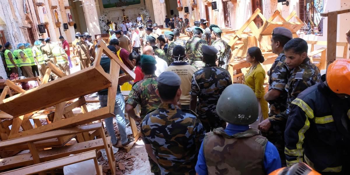 207 fallecidos y 450 heridos tras ataques a iglesias y hoteles en Sri Lanka