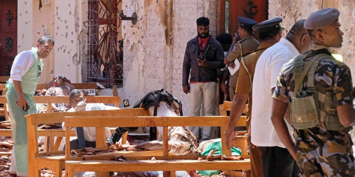 Serie de atentados en Sri Lanka deja por lo menos 200 personas sin vida