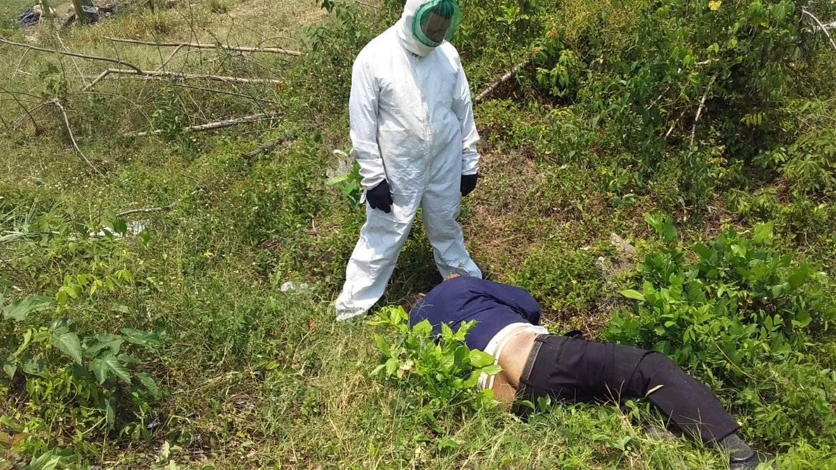 Accidente en la aldea Santa Ana, Petén Bomberos Voluntarios