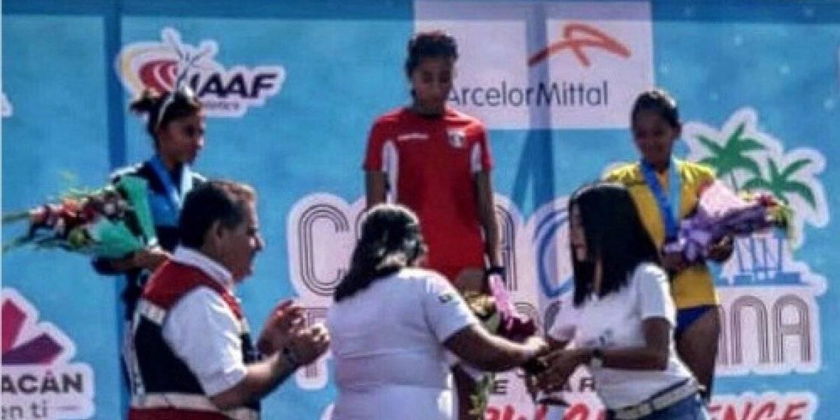 La marchista ecuatoriana, Glenda Morejón, se lleva el oro en la Copa Panamericana