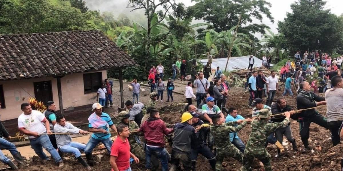 Derrumbe en el Cauca deja al menos 10 muertos en retorno de Semana Santa