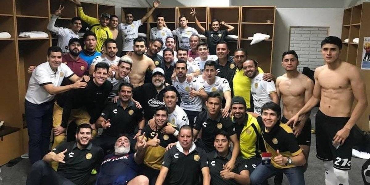 Maradona y Dorados avanzan a semifinales de la Liga de Ascenso
