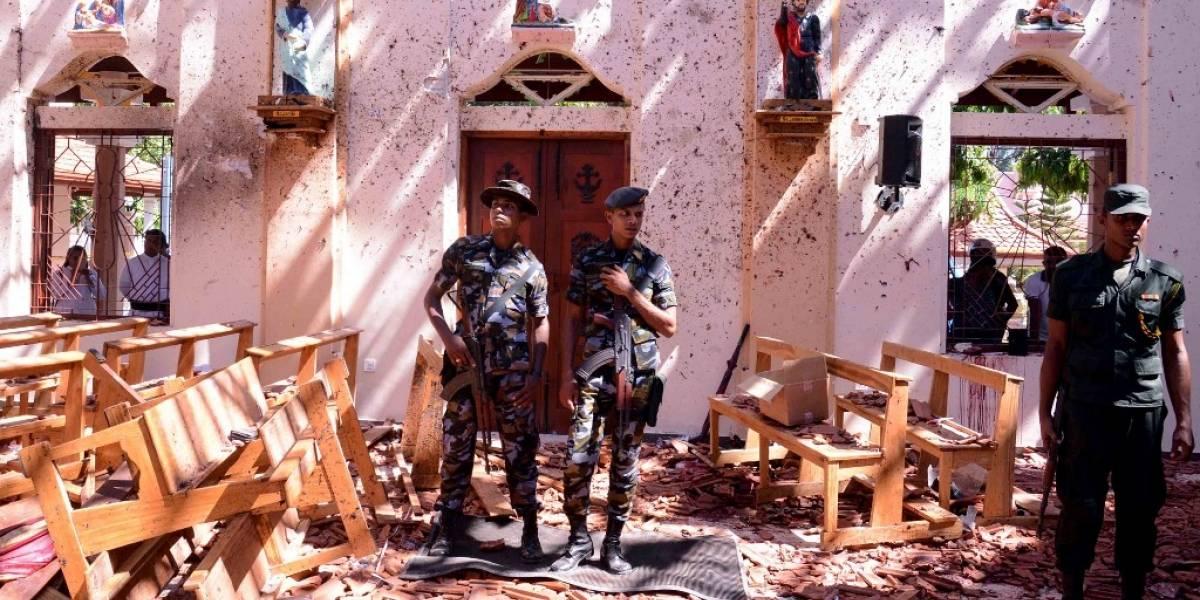Trágicas fotos de los atentados que dejaron más de 200 muertos en Sri Lanka