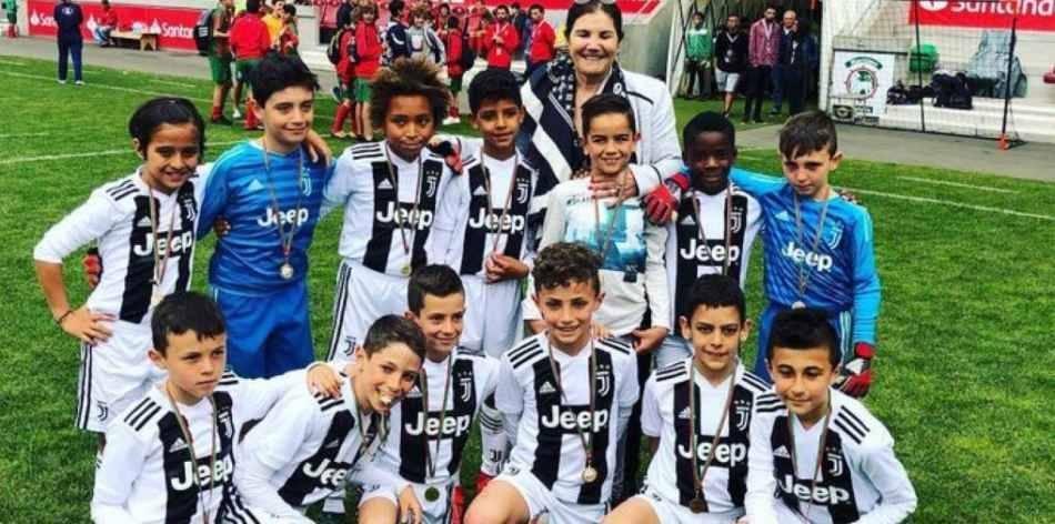 Hijo de Cristiano Ronaldo