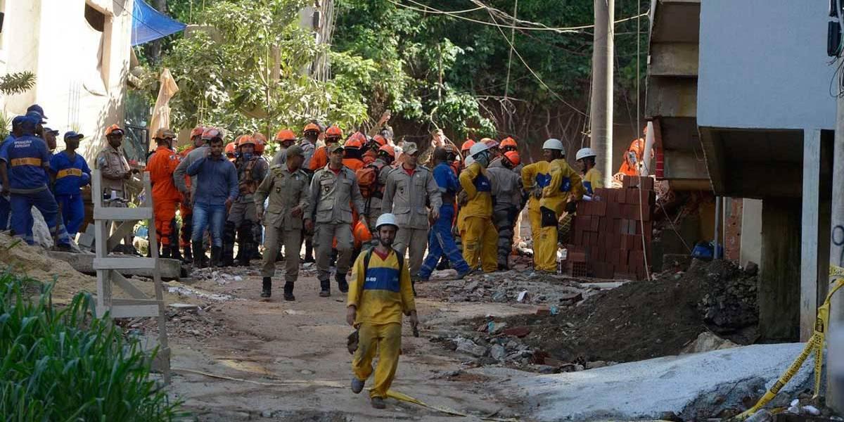Bombeiros encontram corpo da última vítima do desabamento na Muzema