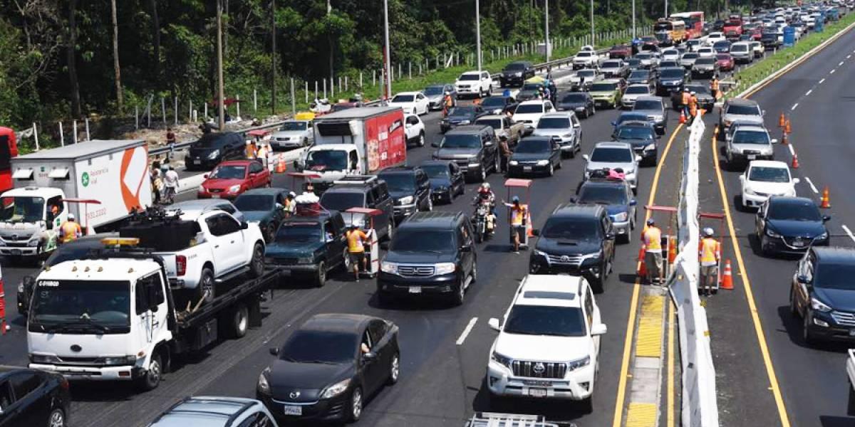 Operación retorno: Miles de veraneantes vuelven a la ciudad