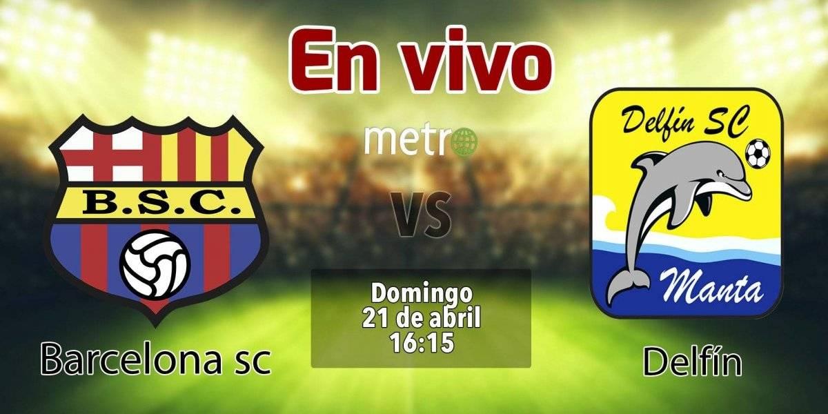 Liga pro Ecuador: Barcelona SC vs Delfín. En vivo, dónde ver el partido, hora y alienaciones