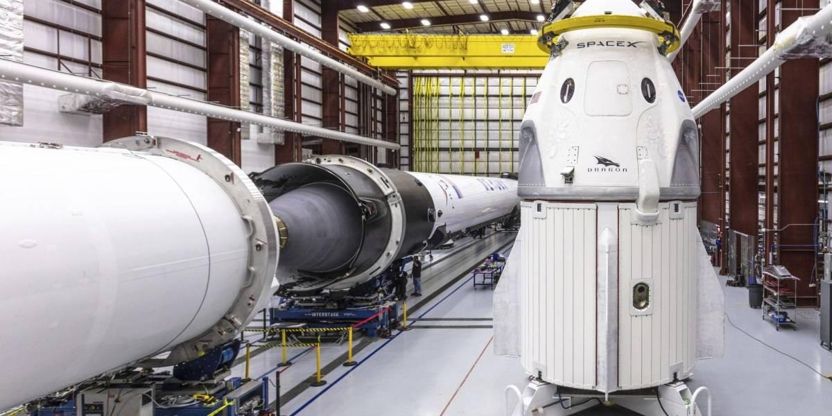 La cápsula Crew Dragon de SpaceX sufre un fallo durante pruebas de motor
