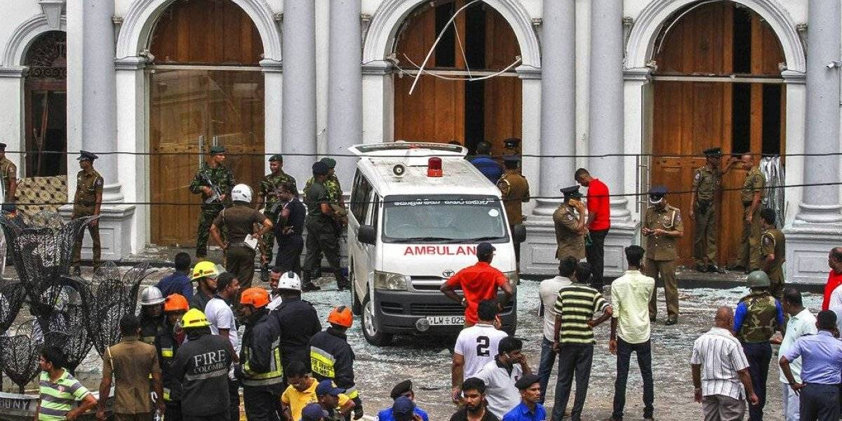 Más de 200 muertos y cientos de heridos por explosiones en Sri Lanka