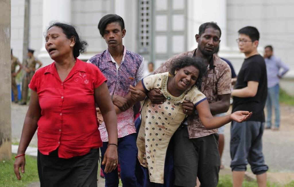 Explosiones en Sri Lanka dejan al menos 207 muertos. Foto: AP