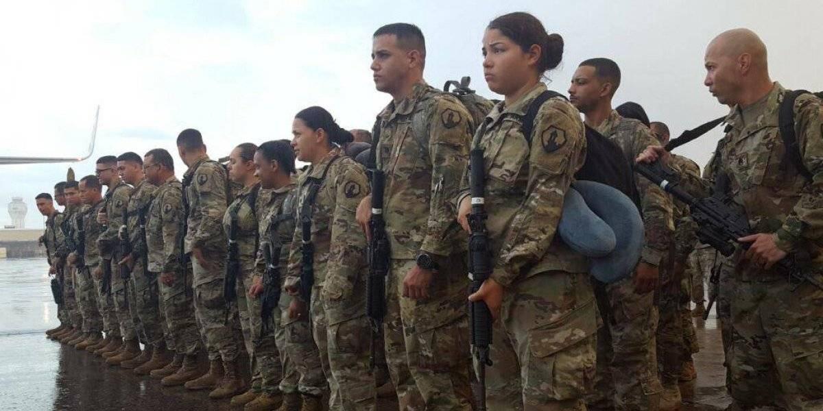 65 soldados de la Reserva salen a misión en Medio Oriente