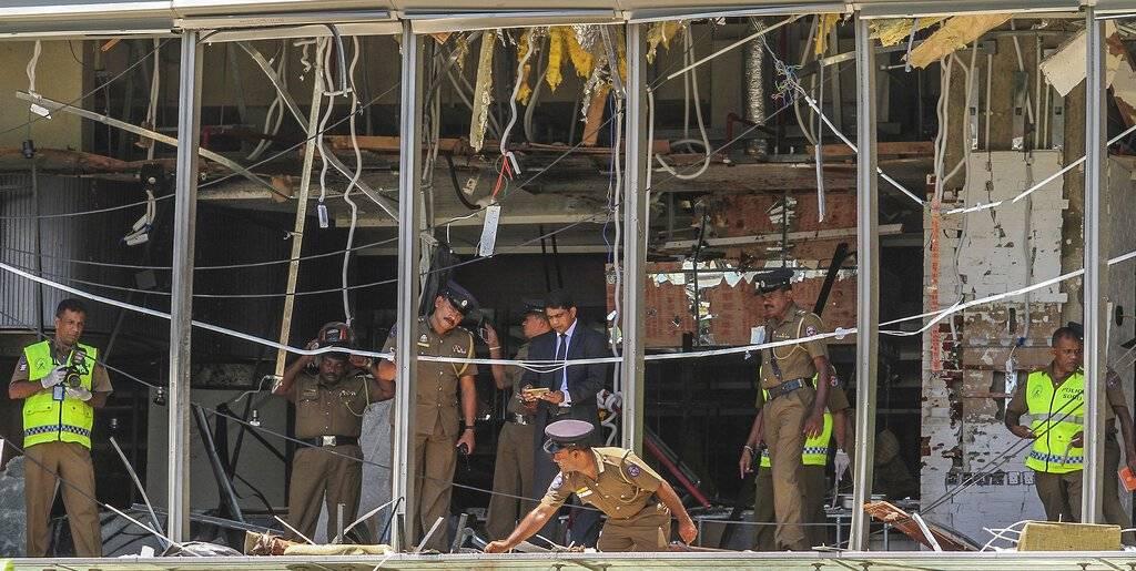 atentado Sri Lanka. AP