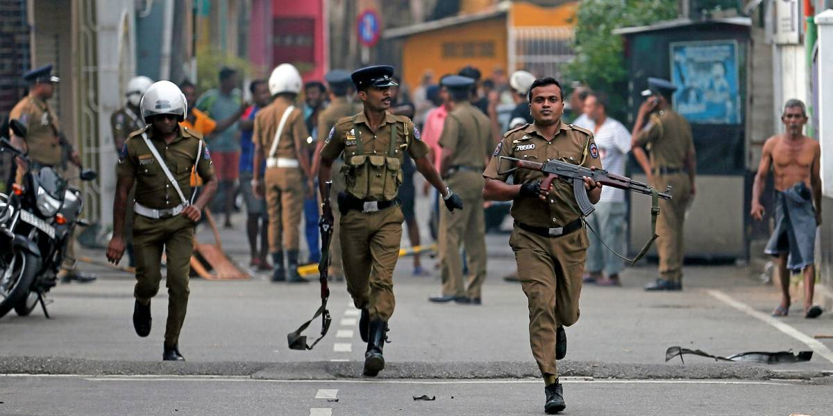 Sri Lanka decreta emergência e diz que rede internacional está envolvida em ataques