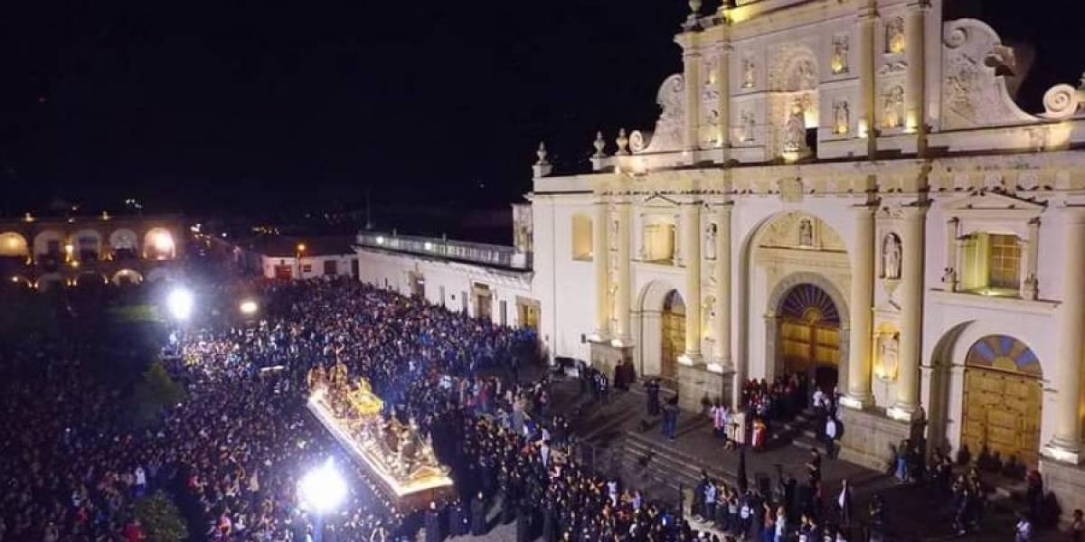 La Antigua Guatemala y occidente los lugares preferidos durante Semana Santa