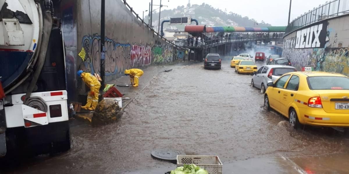 22 de abril: Accidentes y emergencias por lluvia en Quito