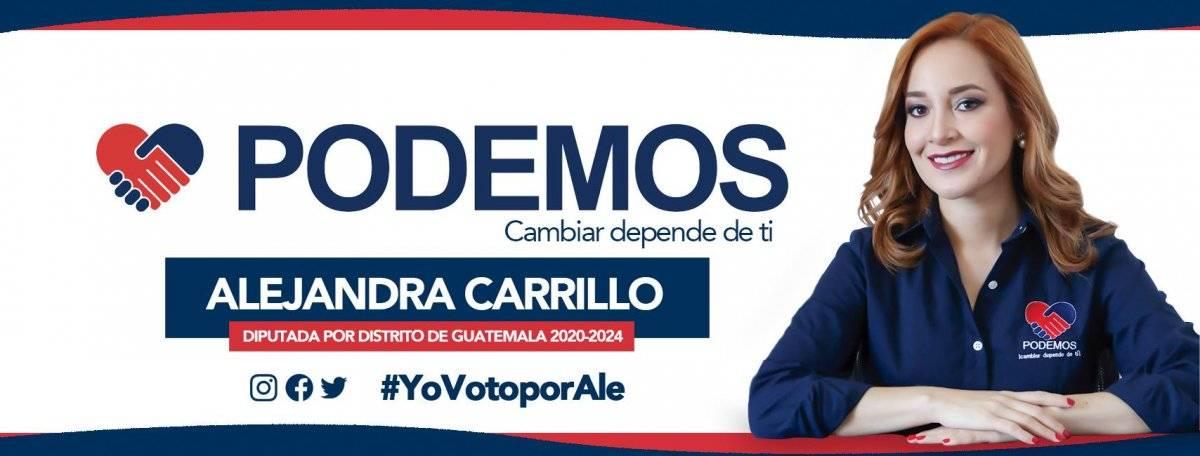 Alejandra Carrillo, Podemos
