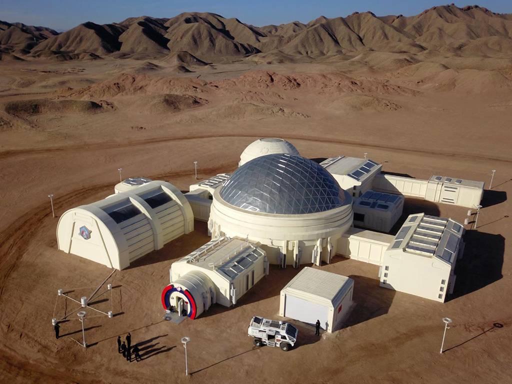 China presenta una base gigante en el Desierto de Gobi en la que simulará la vida en Marte