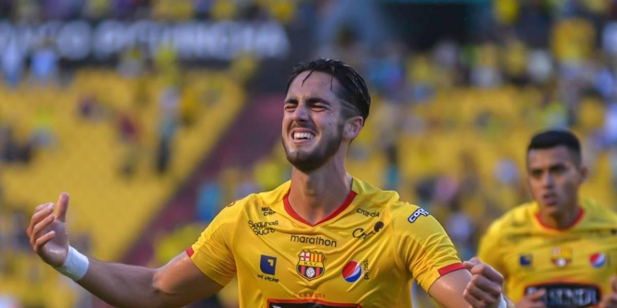 El emotivo mensaje de Leonardo Campana tras su primer gol con Barcelona Sporting Club