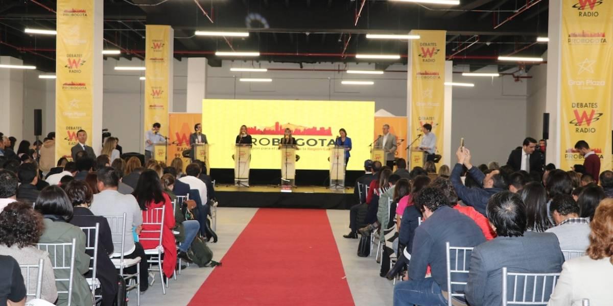 Así transcurrió el primer gran debate por la Alcaldía de Bogotá
