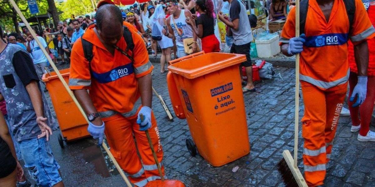 Com pedido de aumento de salários, garis começam greve no Rio
