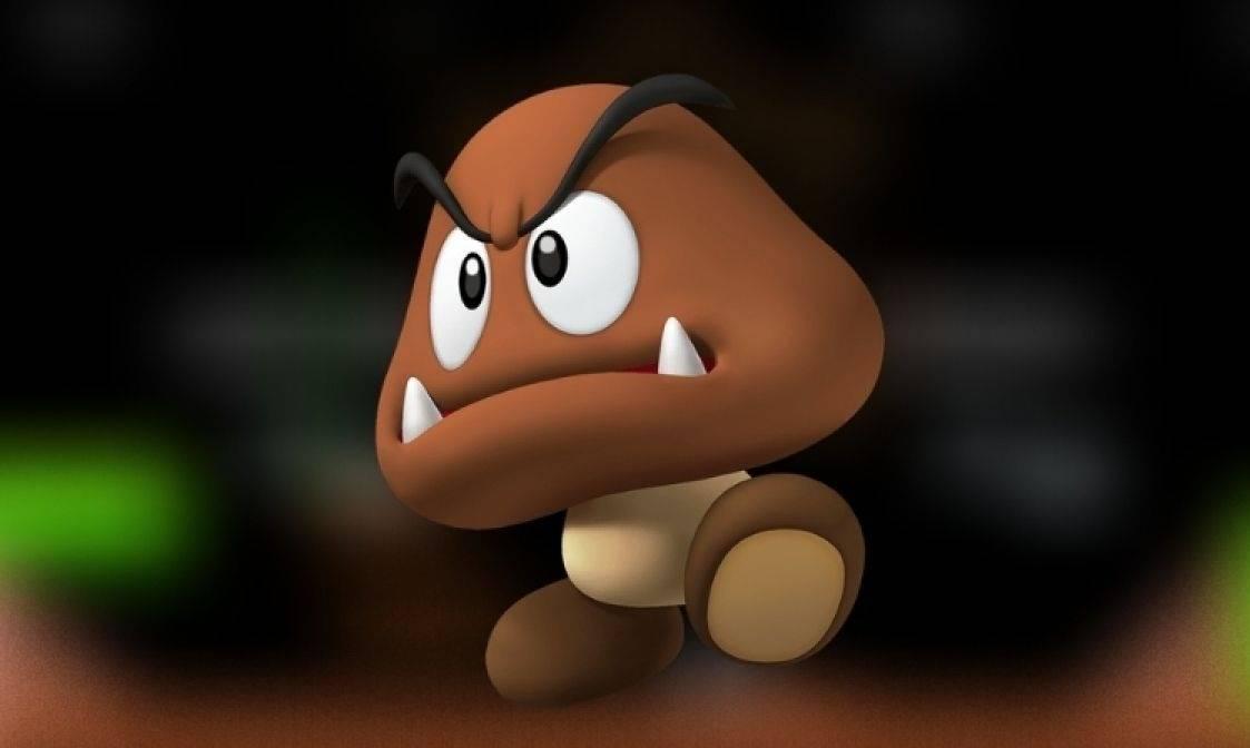 Los Goombas en Mario Bros tienen brazos pero es difícil encontrarlos