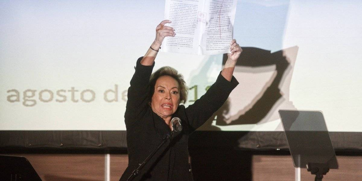 Descarta AMLO pacto para devolver bienes a Gordillo