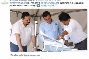 Jimmy Morales, reunión Mario Estrada