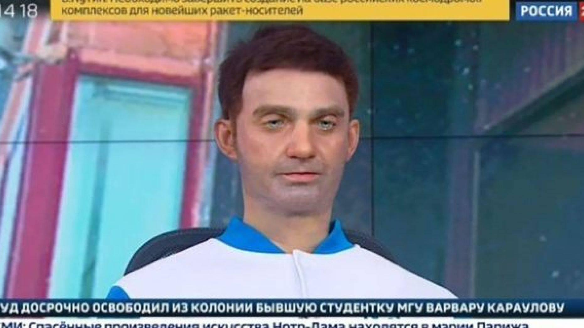 Insólito: Robot con forma humana que lee noticias causa revuelo en Rusia