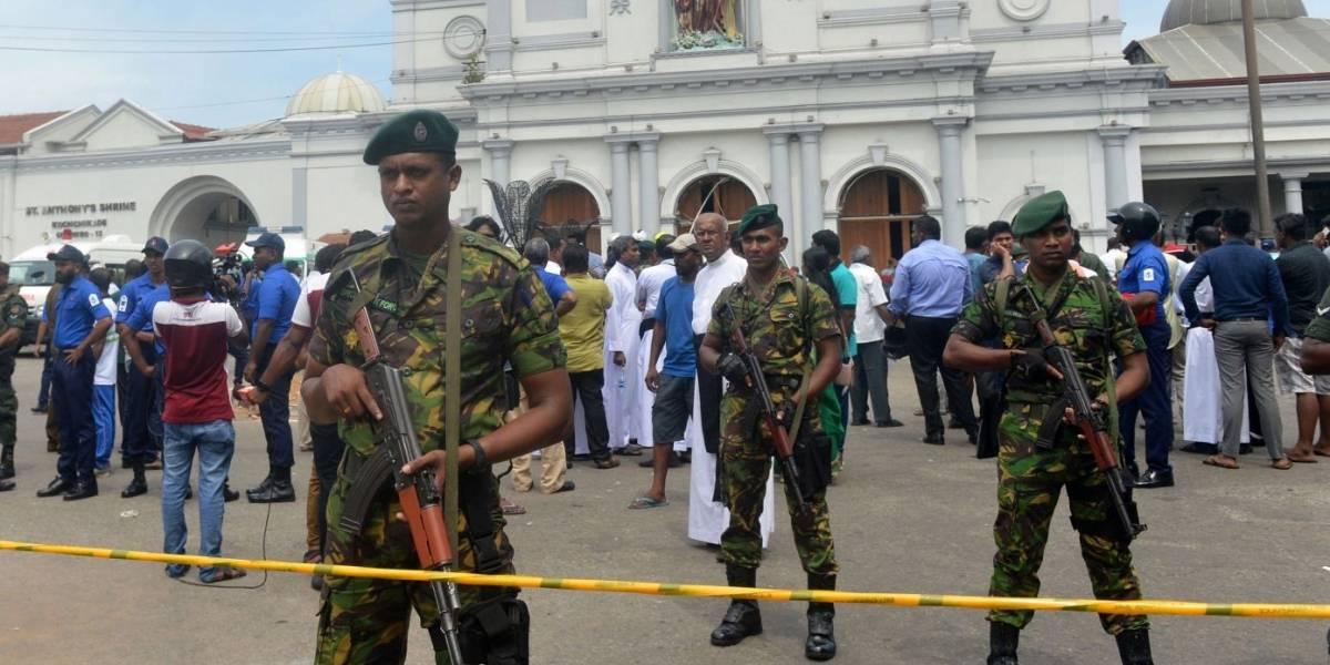 Bloquean en Sri Lanka las redes sociales tras graves atentados terroristas
