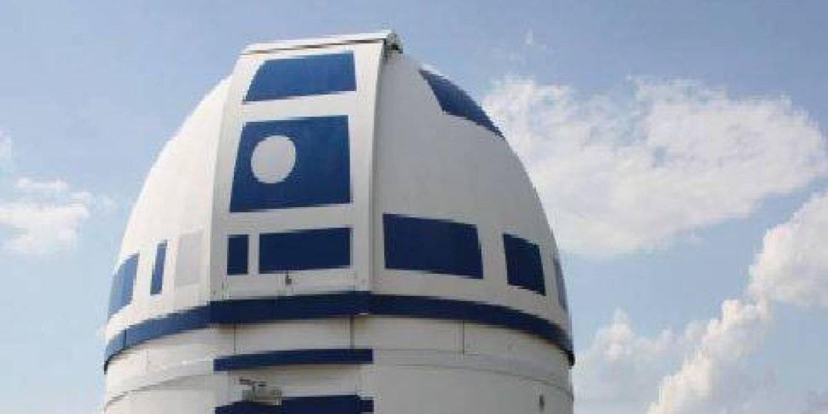 Observatorio se transforma en un gran R2-D2
