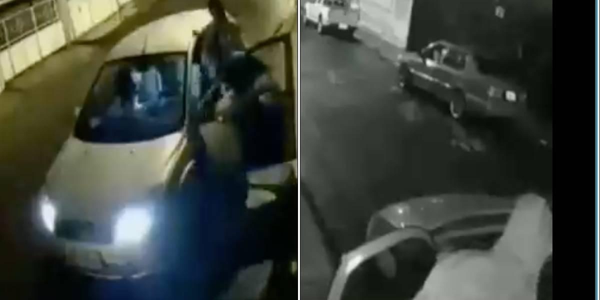 Video muestra asalto en la Rumiñahui, norte de Quito