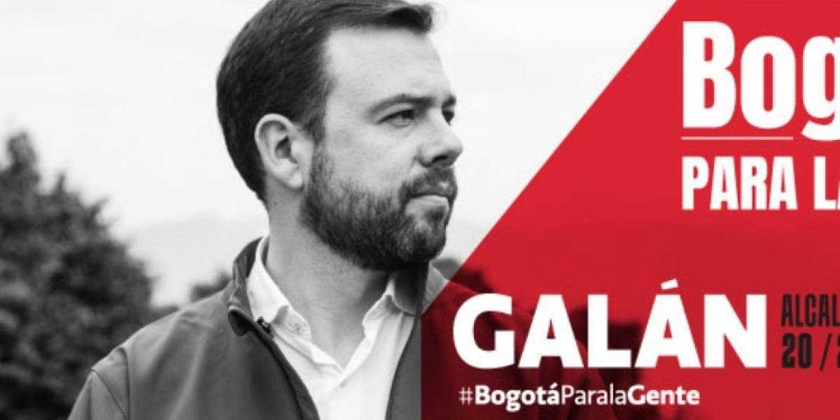 Carlos Fernando Galán se lanza oficialmente por la Alcaldía de Bogotá