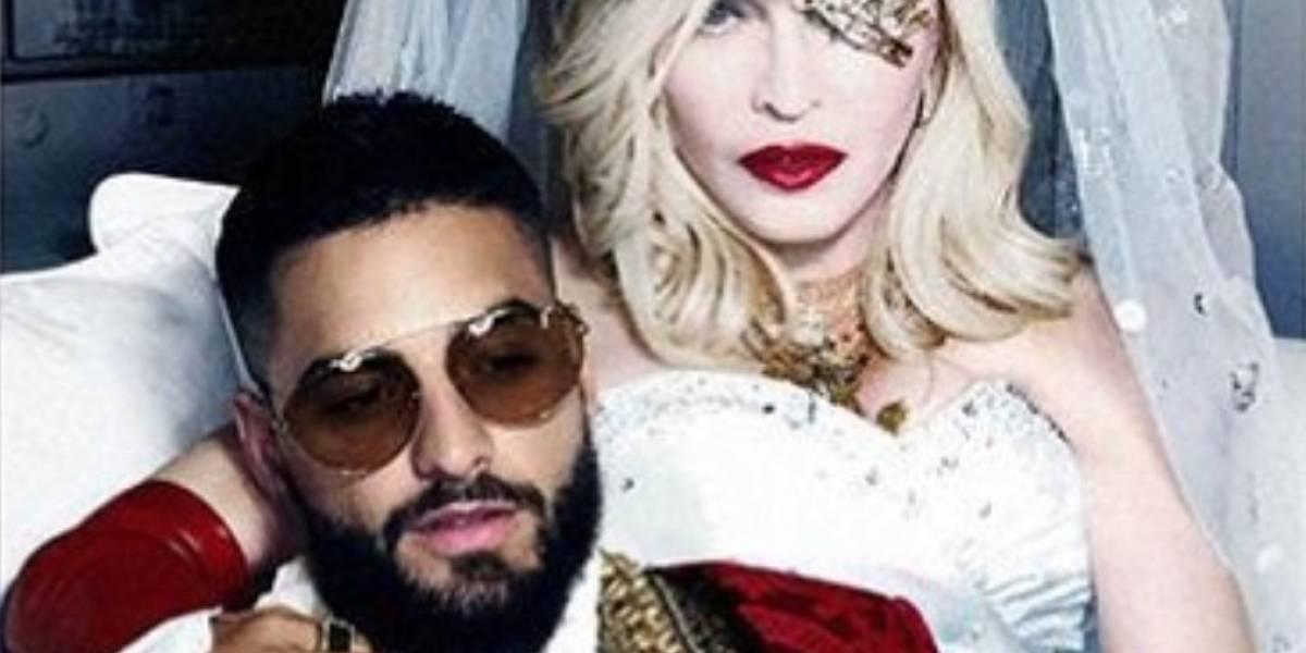 'Madame X': Las primeras imágenes de Maluma y Madonna juntos para el video de 'Medellín'