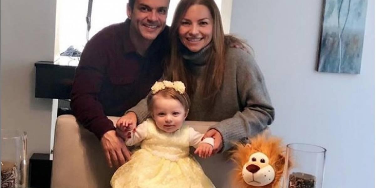 La triste imagen que publicó Juan Diego Alvira junto a su hija